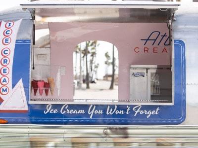 Ice Cream Catering Airstream