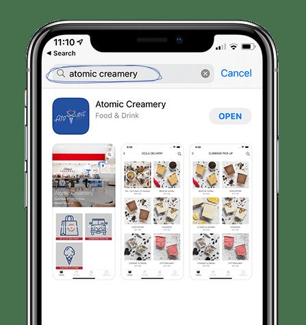 Atomic Creamery Mobile App